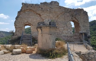 ממבצר המונפורט למצד אבירים קטע מס' 2 בשביל מים אל ימה