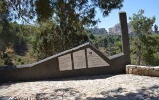 שביל ירושלים קטע מס 4 מגן הפעמון לעין חנדק