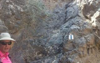 שביל עמק המעיינות קטע מס 4 מחורבת סירין למנחמיה