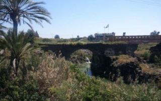 שביל עמק המעיינות קטע מס 5 ממנחמיה לגשר הישנה