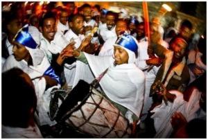 שבת האש הקדושה - שבת האור האתיופים