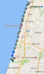 מפת-שביל-ישראל-מגעש-לתל-אביב