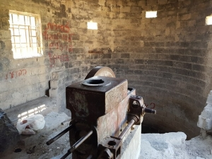 משאבת הדיזל בבאר הטורקית