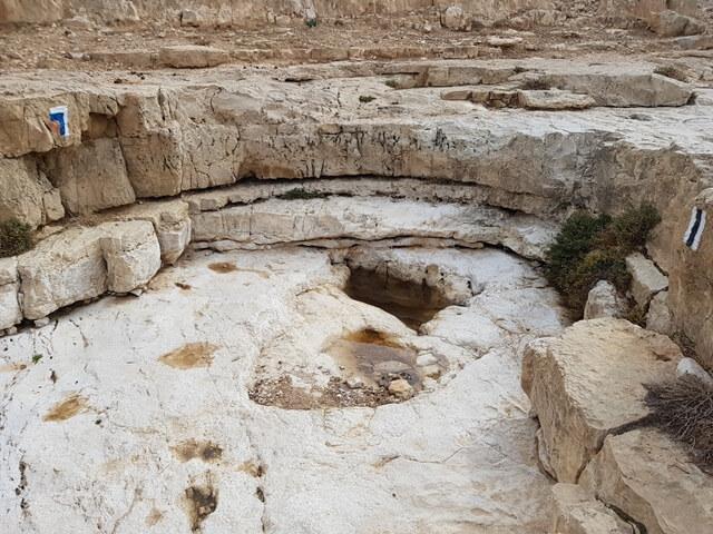 מערד לבריכת צפירה קטע חדש בשביל ישראל