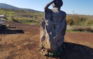 שביל הגולן ממרום גולן לחניון עין זיוון