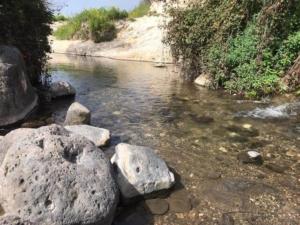 מעבר מים - שביל הגולן מעין הקשתות לגבעת יואב