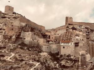 מנזר מר סבא - מראה מנחל קדרון
